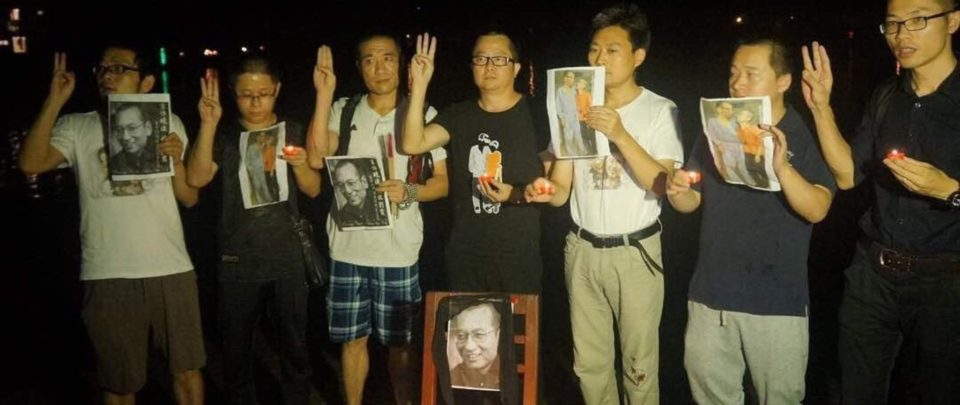 Detained Guangdong activists who held seaside memorial for Liu Xiaobo
