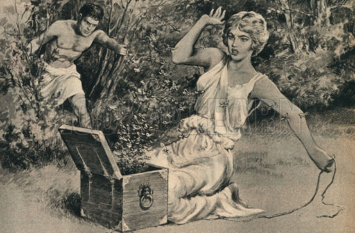 The World's Legends: Pandora's Box of Trouble